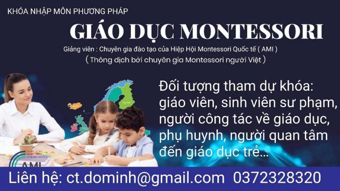 Khóa Nhập Môn Montessori (AMI), về trẻ tuổi 0-3, 3-6